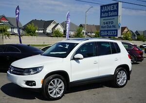 2014 Volkswagen Tiguan Highline ACCIDENT FREE | TSI | HIGHLIN...