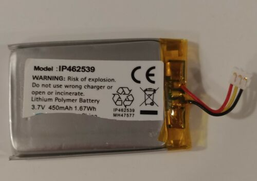 The ComPilot/ComPilot II replacement battery Lithium Ion polymer 3.7 V DC batter