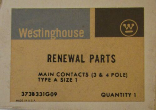 WESTINGHOUSE CUTLER HAMMER A200 Size 1 Contact Kit 3 Pole 373B331G09