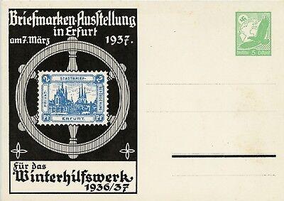675)PP 142 C 9/01*, Briefmarkenausstellung in Erfurt 7. März 1937 gute Erhaltung