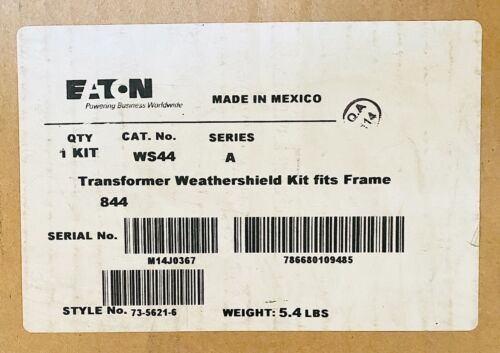 Eaton WS44 Weathershield Kit, Used With Frame 844