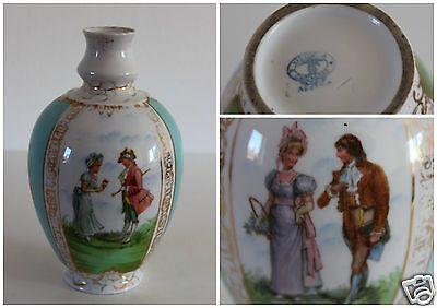 Victoria Carlsbad  Austria Pottery Stunning Hand Painted Art Nouveau  Vase c1891