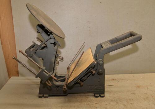 Mercury Model U 5 x 8 Excelsior Kelsey vintage desktop printing press collectibe