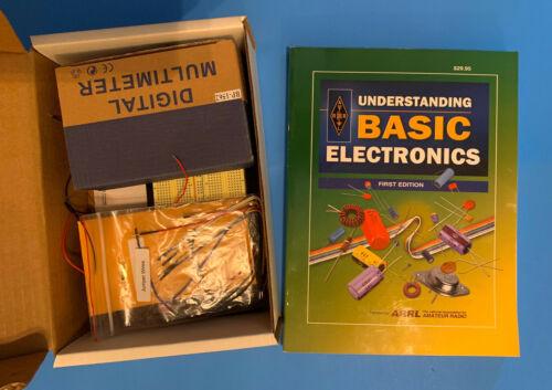 Basic Electronics Kit #1155 with Understanding Basic Electronics Text ARRL EUC