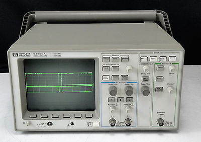 As-is - Agilent Hp 54600a 100mhz Oscilloscope