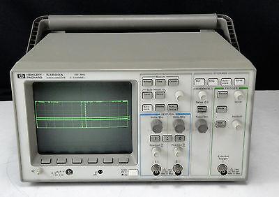 As-is - Agilent Hp 54600a 100mhz Oscilloscope