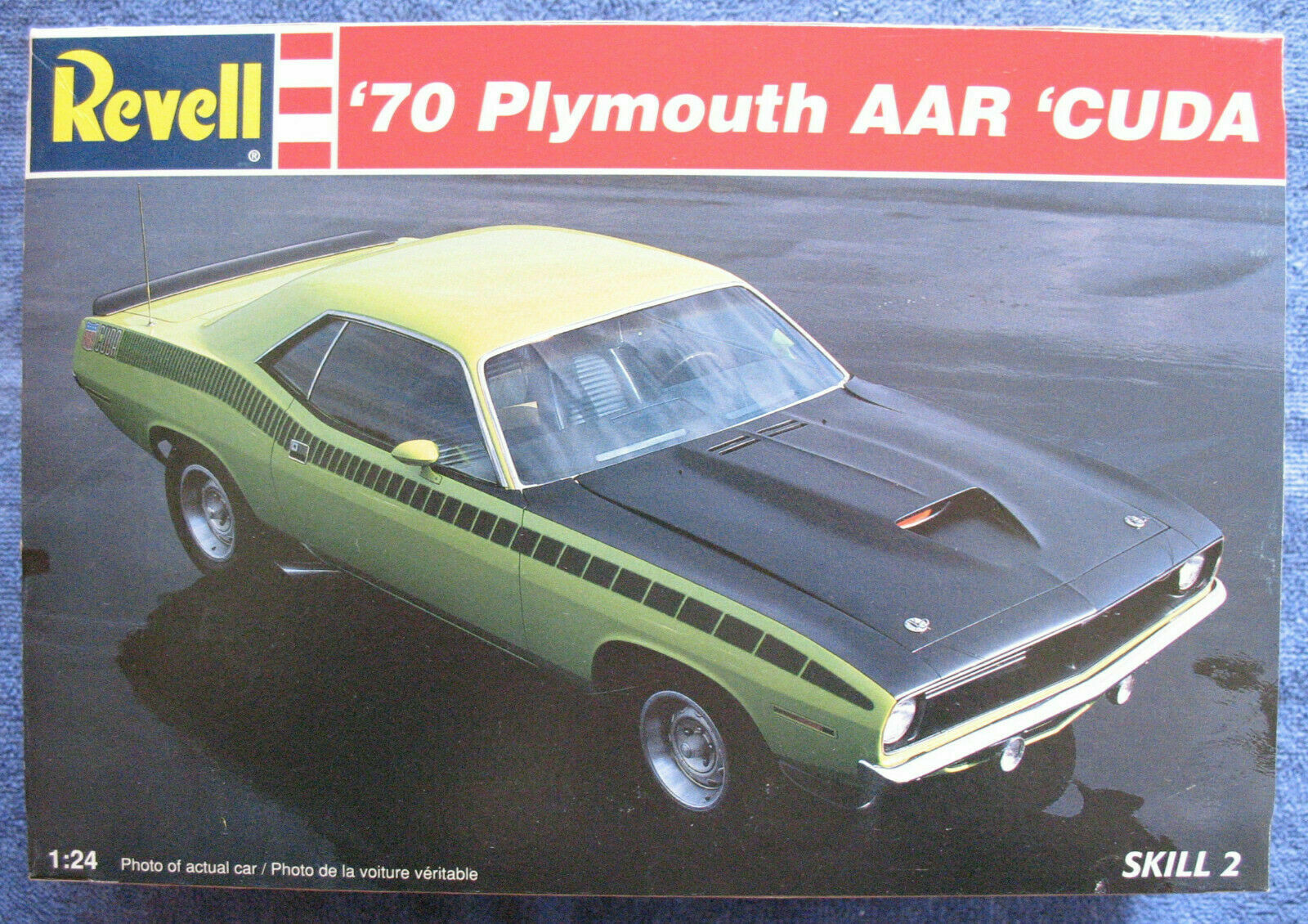 REVELL 1970 PLYMOUTH BARRACUDA
