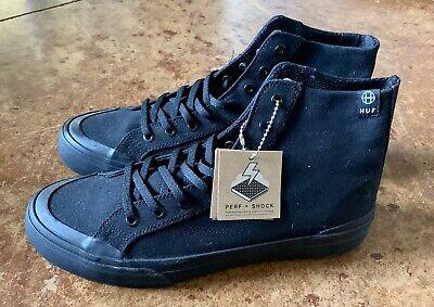 Men's Huf Skater Shoes Black Size 9