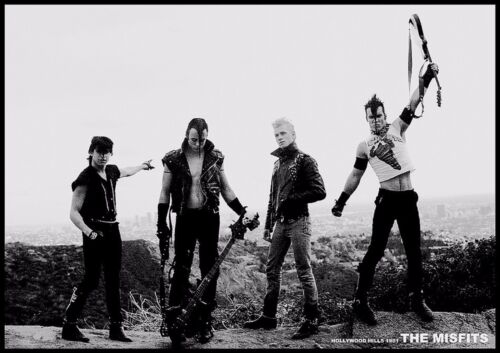 MISFITS HOLLYWOOD HILLS POSTER NEW  !
