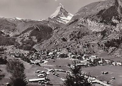 3 AK Zermatt 1954 Ortsansichten Matterhorn Cervin