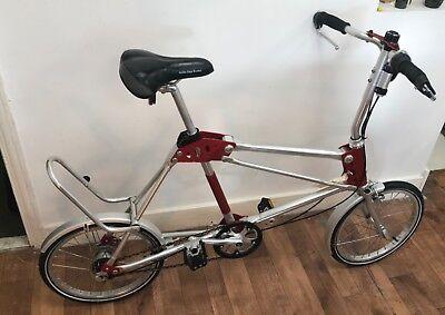 Airframe  folding bike Minivelo  rare unique