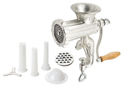 Winco Sausage Stuffing Kit With One Flange And Three Tubes Commercial Stuffing