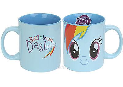 Hasbro My Little Pony Rainbow Dash 20% Cooler Ceramic Tea Coffee Cup Mug NEW (20 Cooler Rainbow Dash)