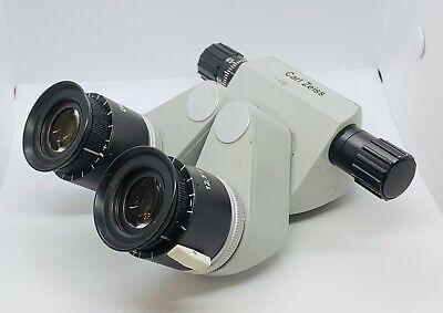 Zeiss F170 Binocular With 12.5x Eyepieces Opmi Surgical Microscope Head