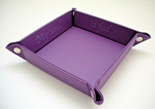 Snap Tray Purple My Soul is Fed Accoutrement Designs Cross Stitch Storage