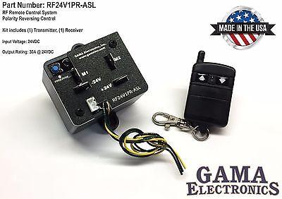 Rf Remote Polarity Reverse Control Waux. Switch Leads - 24 Vdc - Rf24v1pr-asl