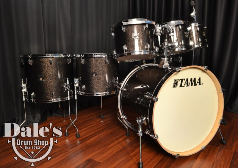 Tama drums set Superstar Classic Maple Midnight Gold Sparkle 7 piece kit NEW