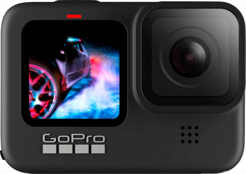 GoPro - HERO9 Black 5K Waterproof Action Camera - Black