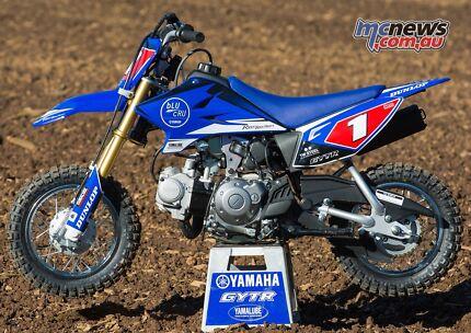Yamaha Factory EFFEX  TTR50 Full Graphics Sticker Kit