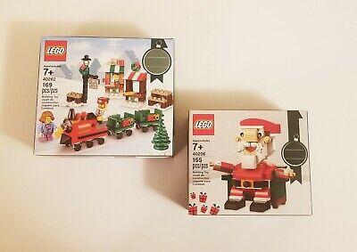 Lego Holiday Seasonal Bundle - [40206] - [40262] - Santa/Train Sets