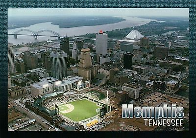 AutoZone Park, Downtown Memphis Tennessee, Baseball Stadium Redbirds - Postcard