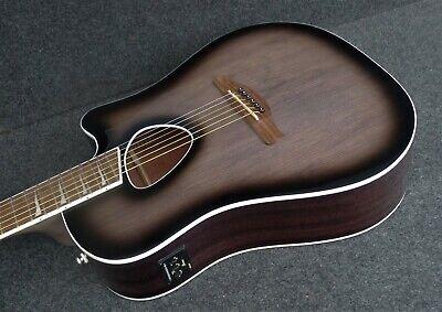 IBANEZ ALT30 TCB Altstar Acoustic Electric Cutaway Guitar Trans Charcoal Burst