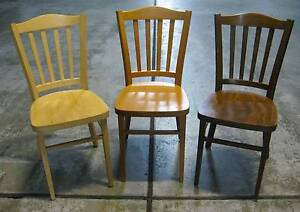 51 Cafe Chairs in Great Condition ($20 each) Artarmon Willoughby Area Preview