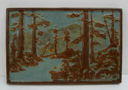 CALCO RARE SIGNED Tile California Redwoods