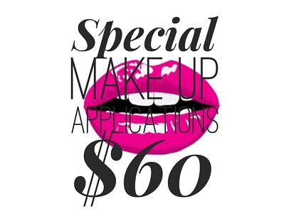 Make up applications for $60