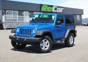 2016 Jeep Wrangler Sport 6-SPEED | ALLOYS | HARD TOP