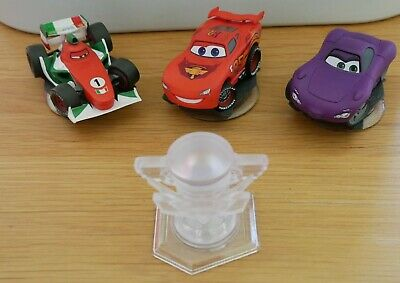 Disney Infinity Cars Characters and Playset