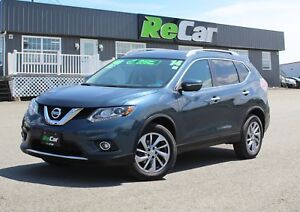 2014 Nissan Rogue SL AWD | HEATED LEATHER | NAV | SUNROOF
