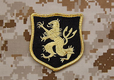 NSWDG Navy SEAL Team 6 DEVGRU Lion Gold Squadron Patch ST6 Zero Dark Thirty MOH