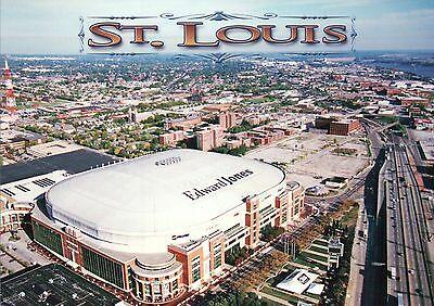 Edward Jones Dome, NFL St. Louis Rams Football Arena Missouri - Stadium Postcard ()