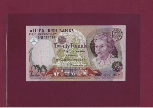 Ireland Northern  20 Pounds 1990 P-8 UNC