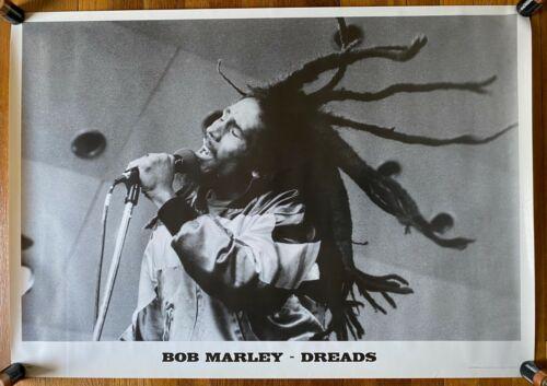 Bob Marley Dreads RARE import poster