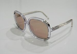 5752c3bd0803 Chloe CL2119 C11 Myrte Clear Violet Frame Polarized Sunglasses