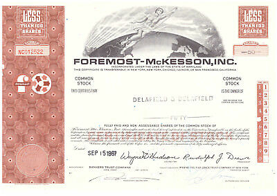 FOREMOST-McKESSON, INC. braun