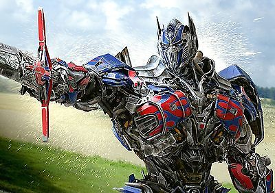 Transformers Optimus Prime Poster Cool Large Quality, FREE P+P, CHOOSE YOUR SIZE Transformers Prime-poster