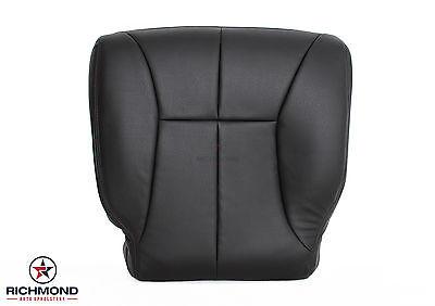 98-02 Dodge Ram SLT 4x4 Diesel 6-Speed -Driver Bottom Leather Seat Cover Dk Gray
