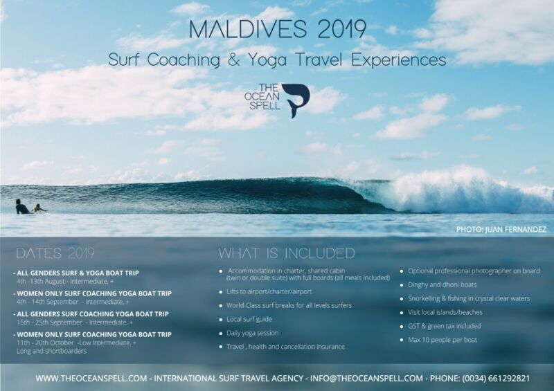 Surf Travel Agency: specialised in surf coaching boat trips, etc
