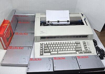 Vintage Ibm Personal Wheelwriter 2 Lexmark 6781-025 Electric Typewriter 9 Ribbon