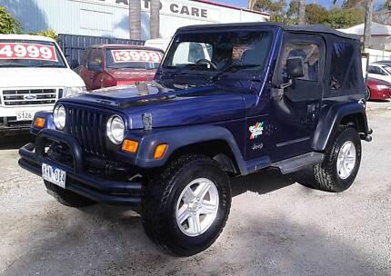 Jeep Wrangler Sport only $6,999 Lonsdale Morphett Vale Area Preview