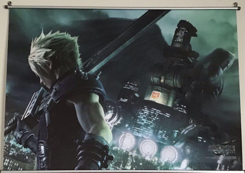 Square Enix FINAL FANTASY VII REMAKE Wall Scroll Vol.1