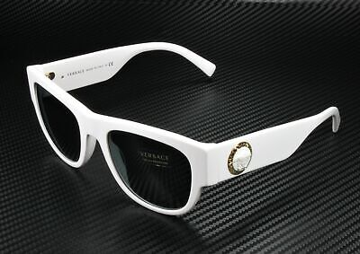VERSACE VE4359 401 87 White Grey 55 mm Men's Sunglasses