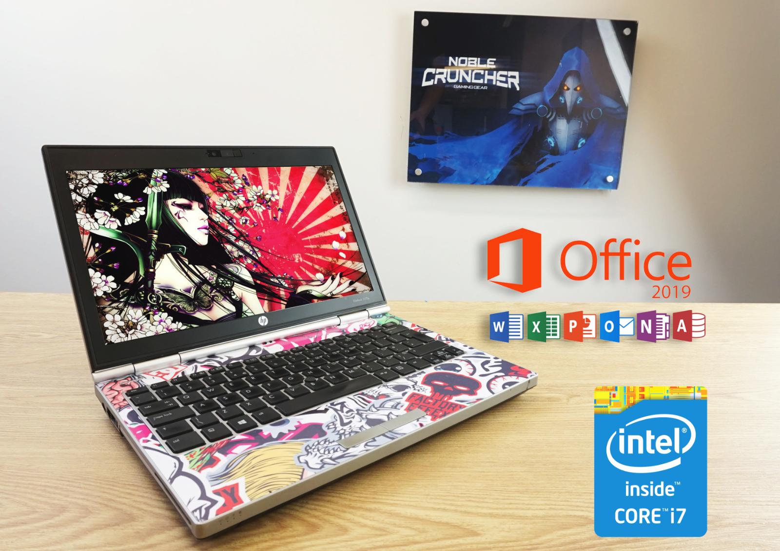 Laptop Windows - Cheap Gaming Laptop HP Intel Core i7 6GB RAM 180GB SSD Windows 10 Computer