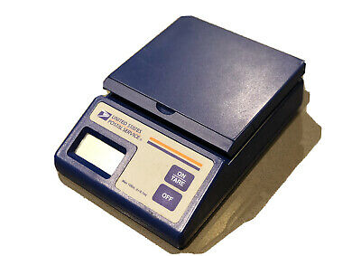 Usps Plus 10 Postal Electronic Scale Digital Display Wfold-up Platform 10 Lbs.
