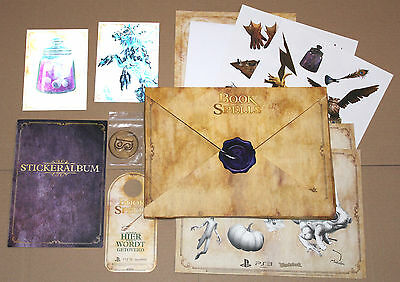 Wonderbook Book Of Spells PS3 Extremely Rare promo Press Kit