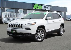 2014 Jeep Cherokee Limited 4X4 | HEATED LEATHER | NAV | SUNROOF