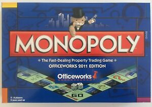 Monopoly Officeworks Edition 2011 (Price Drop!!)